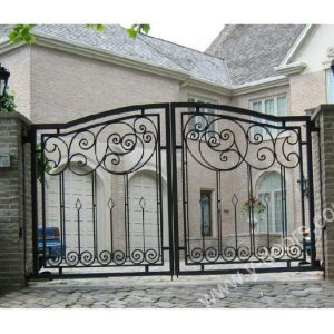 Wrought Iron Main Gate Exterio Door SY-GT-M802