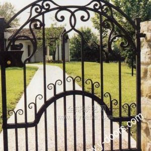 Wrought Iron Hand Forged Steel Main Gate SY-GT-M826