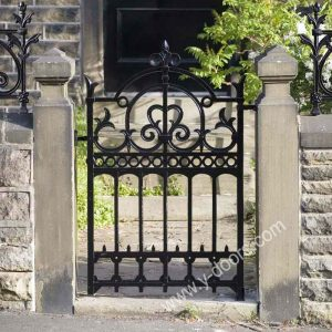Wrought Iron Hand Forged Steel Main Gate SY-GT-M834