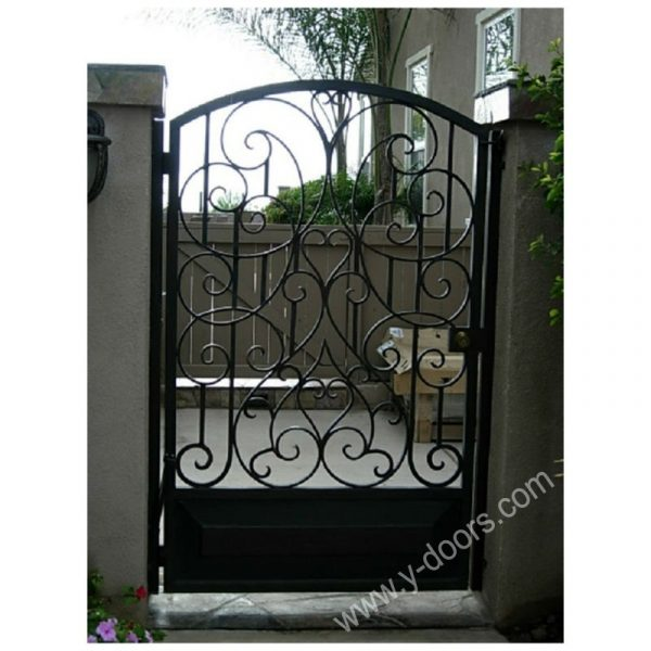 Wrought Iron Hand Forged Steel Main Gate SY-GT-M835