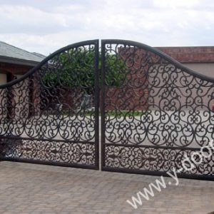 Wrought Iron Hand Forged Steel Main Gate SY-GT-M806