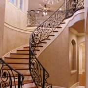 Wrought Material Stair Railing (21)