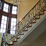 Wrought Material Stair Railing (3)