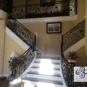 Wrought Material Stair Railing (31)