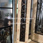 Wooden Finish Iron Doors (2)