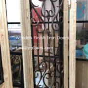 Wooden Finish Iron Doors (4)