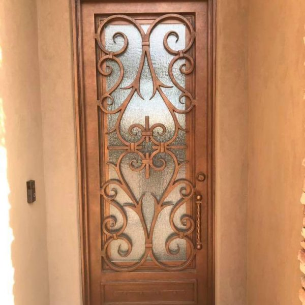 Wrought iron entry doors and windows (42)