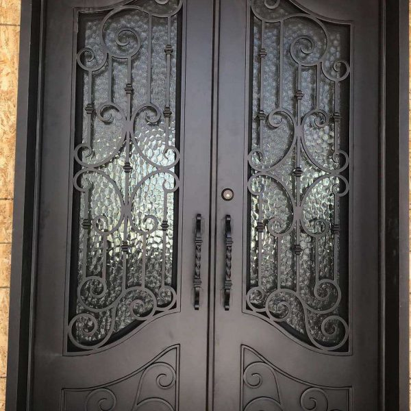 Wrought iron entry doors and windows (50)