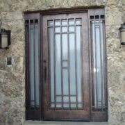 wrought iron entry double door (54)