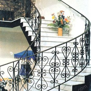 Wrought Iron Hand Forged Steel Railing SY-Rl-M915