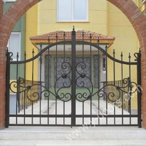 Wrought Iron Hand Forged Steel Main Gate SY-GT-M808