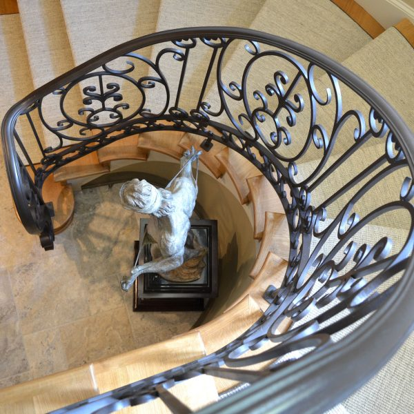 Wrought Material Stair Railing (2)