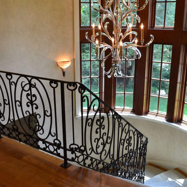 Wrought Material Stair Railing (4)