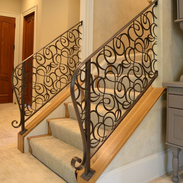 Wrought Material Stair Railing (5)