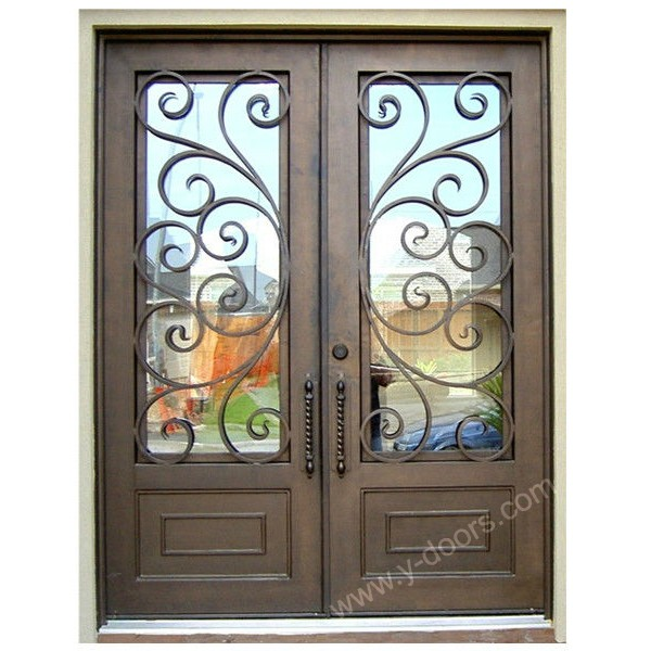square-hand-forged-wrought-iron-double-entry-door-sy-dr-m6057-stsp-