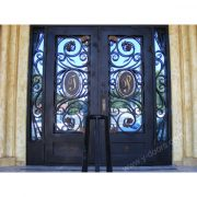 square-hand-forged-wrought-iron-double-entry-door-with-sidelight-sy-dr-m6058-stsp-