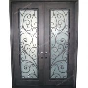 square-top-hand-forged-wrought-iron-double-entry-door-sy-dr-m6024-stsp-