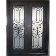 square-top-hand-forged-wrought-iron-double-entry-door-sy-dr-m6028-stsp-