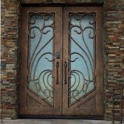 Residential-House-Iron-Safety-Double-Entry-Door