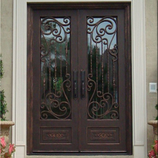 Residential-House-Iron-Safety-Double-Entry-Door (2)