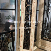 Wooden Finish Iron Doors (2)