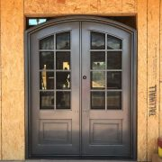 Wrought iron entry doors and windows (11)