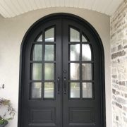 Wrought iron entry doors and windows (22)