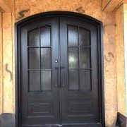 Wrought iron entry doors and windows (24)