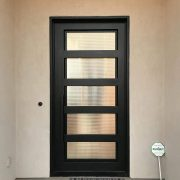 Wrought iron entry doors and windows (28)