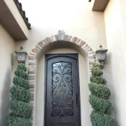 Wrought iron entry doors and windows (40)