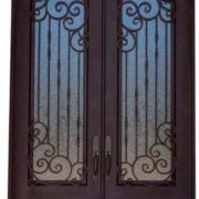 Wrought iron entry doors and windows (9)