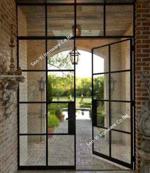 法式双门带天窗
