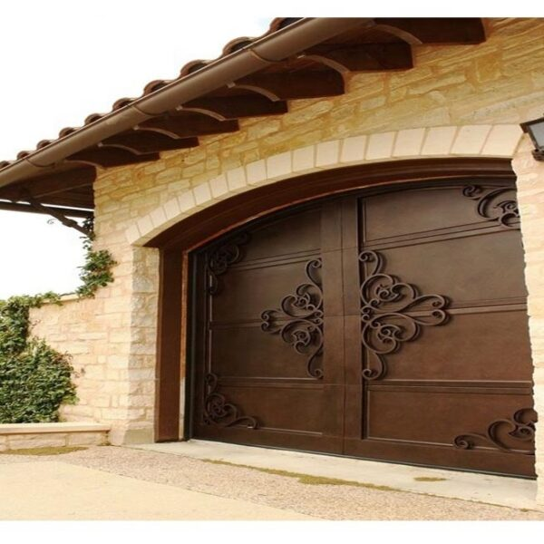 Decorative-Wrought-Iron-Garage-Doors