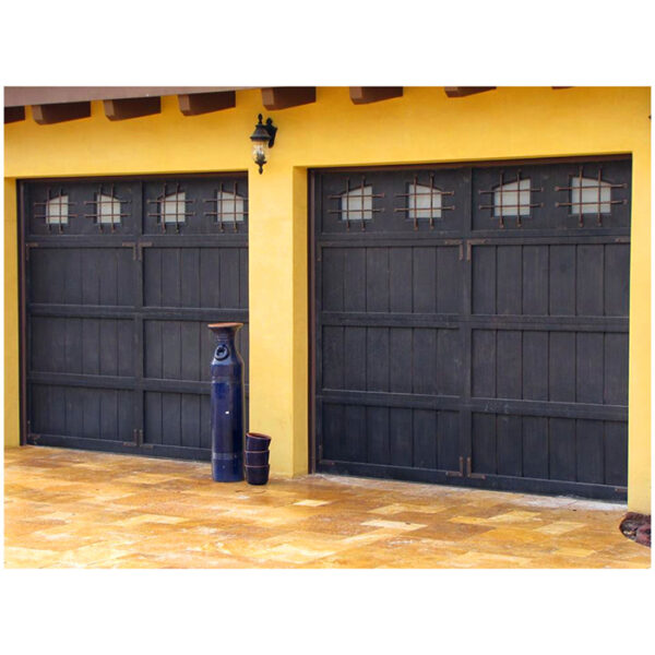 Wholesale-cheap-prices-customized-wrought-iron-garage (1)