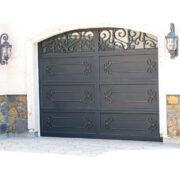 Wholesale-cheap-prices-customized-wrought-iron-garage (2)