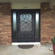 wrought iron entry double door (25)